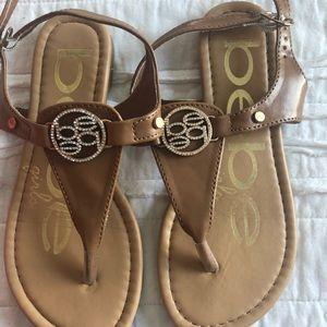 Girls Bebe sandals! Size 13